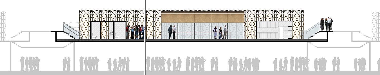 Plantas estruturais do projeto da Cozinha Escola Nestle, do escritório de arquitetura Rosenbaum. Foto: divulgacao-Rosenbaum