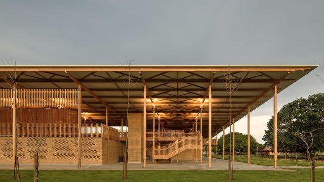 Fundação Bradesco - Canuanã, projeto do escritório de arquitetura Rosenbaum
