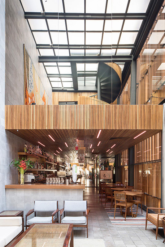 Restaurante e Estúdio Bossa - Projeto do Escritório de Arquitetura Rosenbaum. Foto: Joana França para Portal Arcoweb