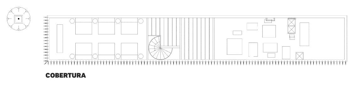 Restaurante e Estúdio Bossa - Projeto do Escritório de Arquitetura Rosenbaum.