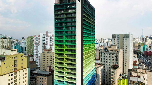 Edifício Brasil, projeto de arquitetura do escritório Rosenbaum em coautoria com Guto Requena